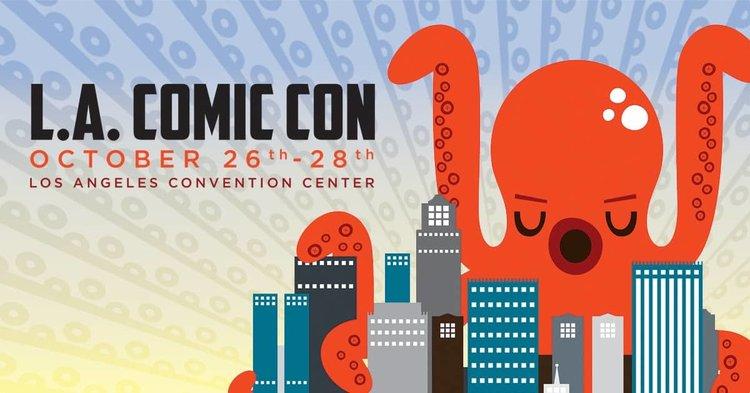 Event Recap: L.A. Comic Con 2018