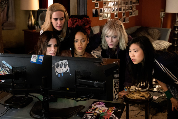 Blu-ray/DVD Review: OCEAN'S 8 (2018)