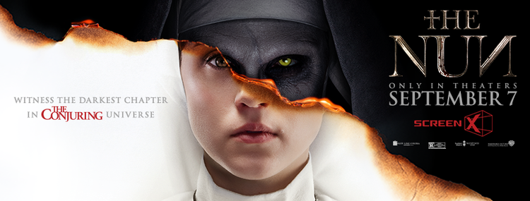 Movie Review: ScreenX Presents THE NUN (2018)