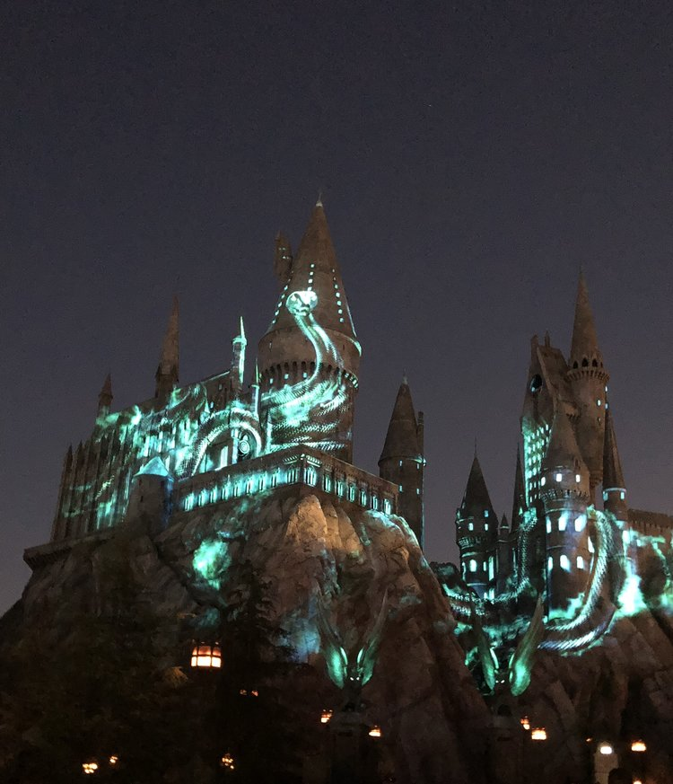 Event Recap: The Nighttime Lights at Hogwart's Castle