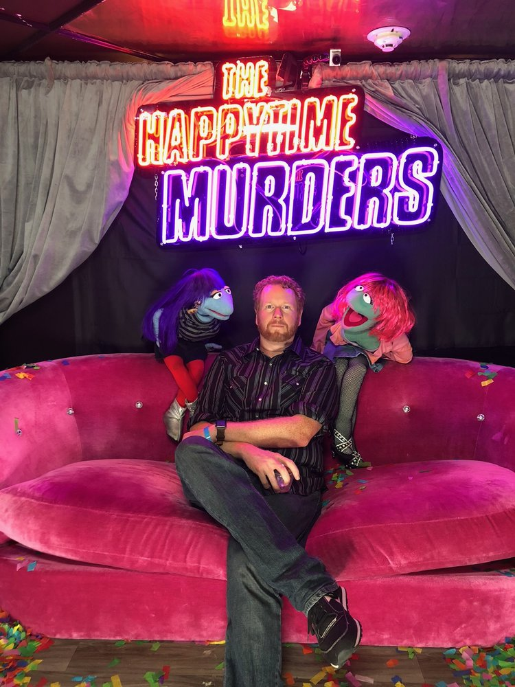 Interview: Writer Todd Berger for THE HAPPYTIME MURDERS