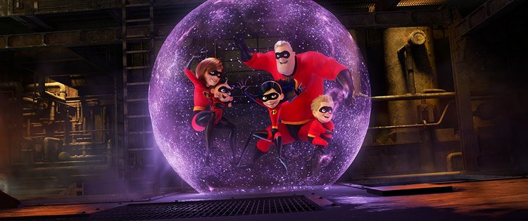 Movie Review: INCREDIBLES 2 (2018)