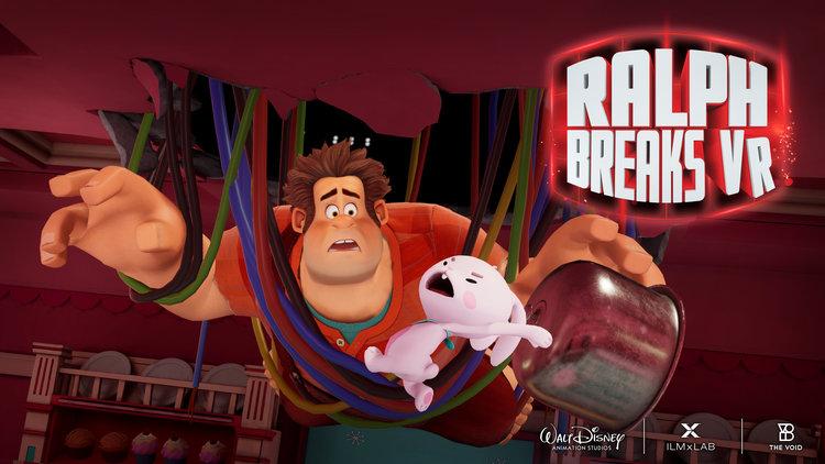 VR Experience: RALPH BREAKS VR