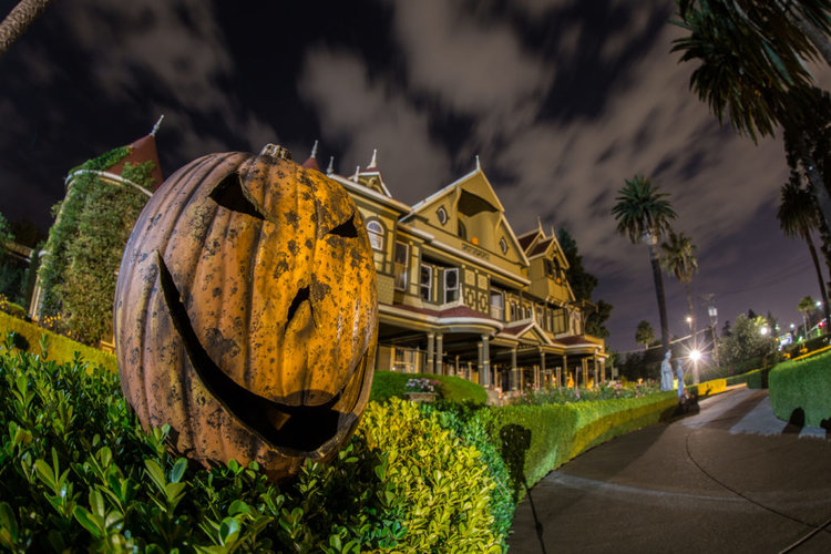 Event Recap: Winchester Mystery House Halloween Candlelight Tour
