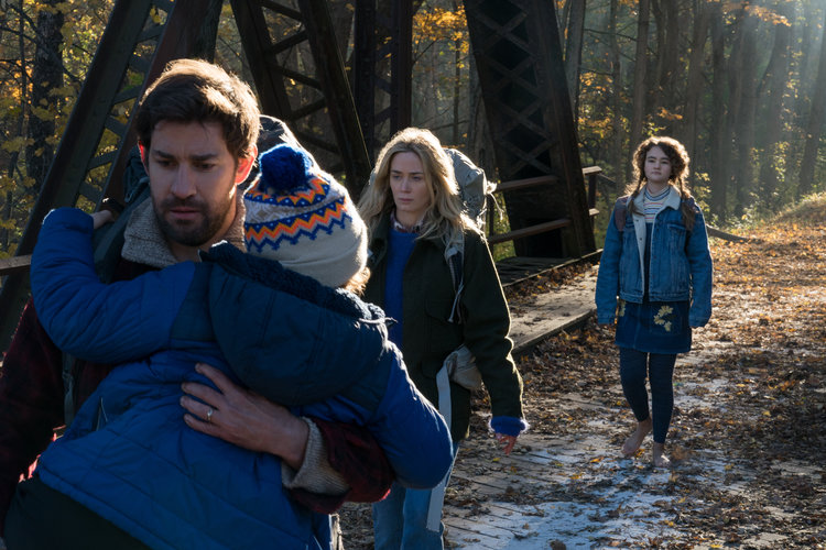 Interview: Press Conference with the Cast of A QUIET PLACE