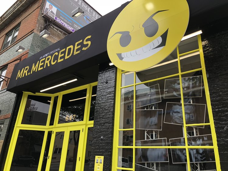 Immersive Experience: The Mr. Mercedes Activation