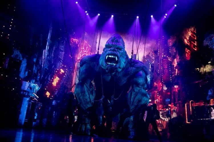Live Theatre: KING KONG ALIVE on Broadway