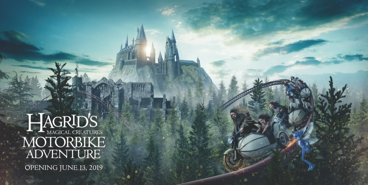 [News] Universal Orlando Announces HAGRID'S MAGICAL CREATURES MOTORBIKE ADVENTURE