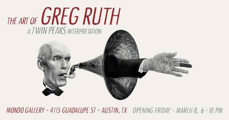 [News] Mondo Gallery Announces THE ART OF GREG RUTH-A TWIN PEAKS INTERPRETATION