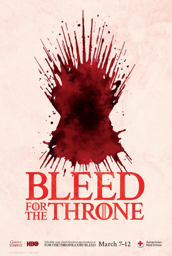 [News] Donate Blood and Show Your Loyalty for Game of Thrones