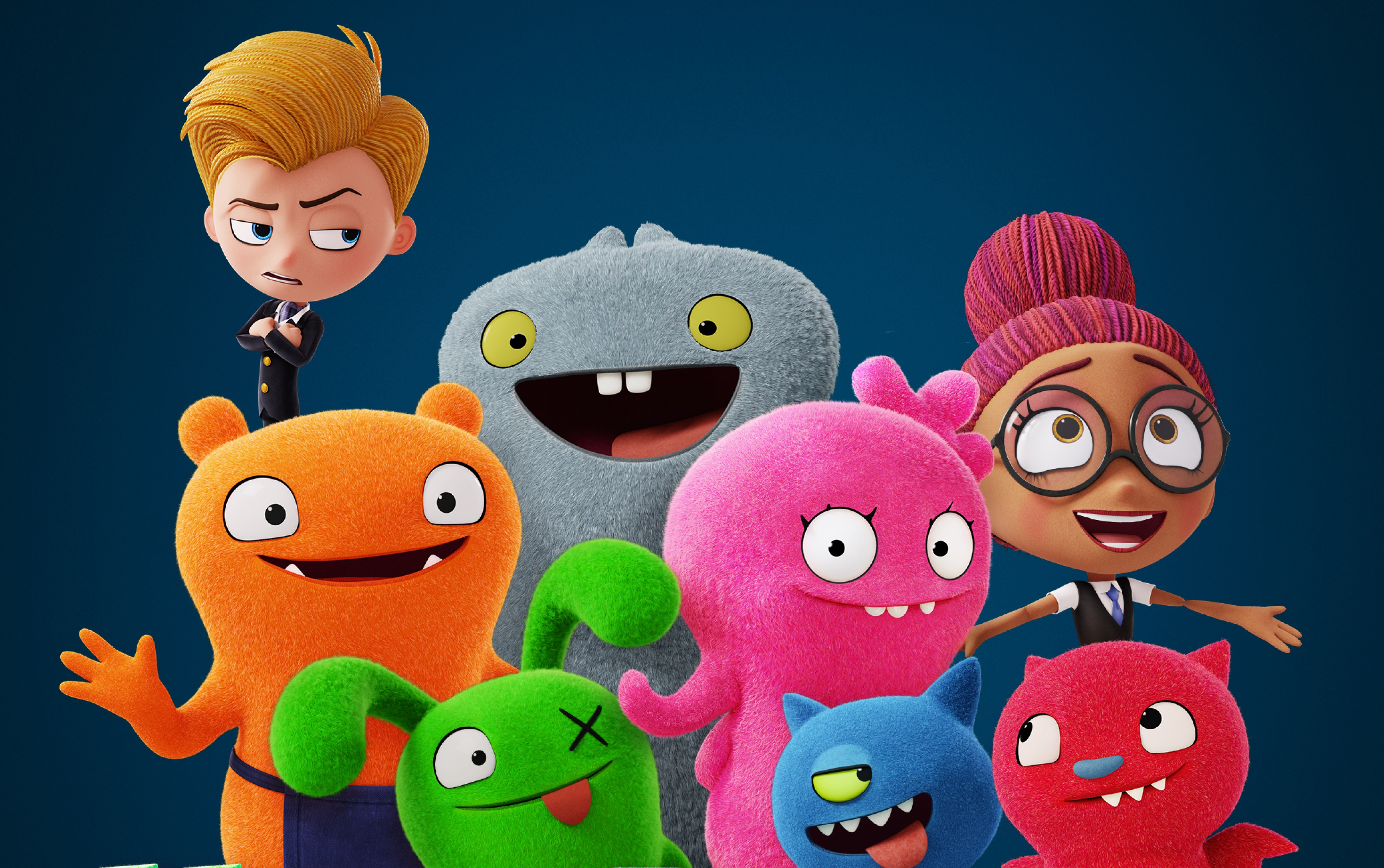 New UglyDolls Posters Embrace the Joy of Unconventionality