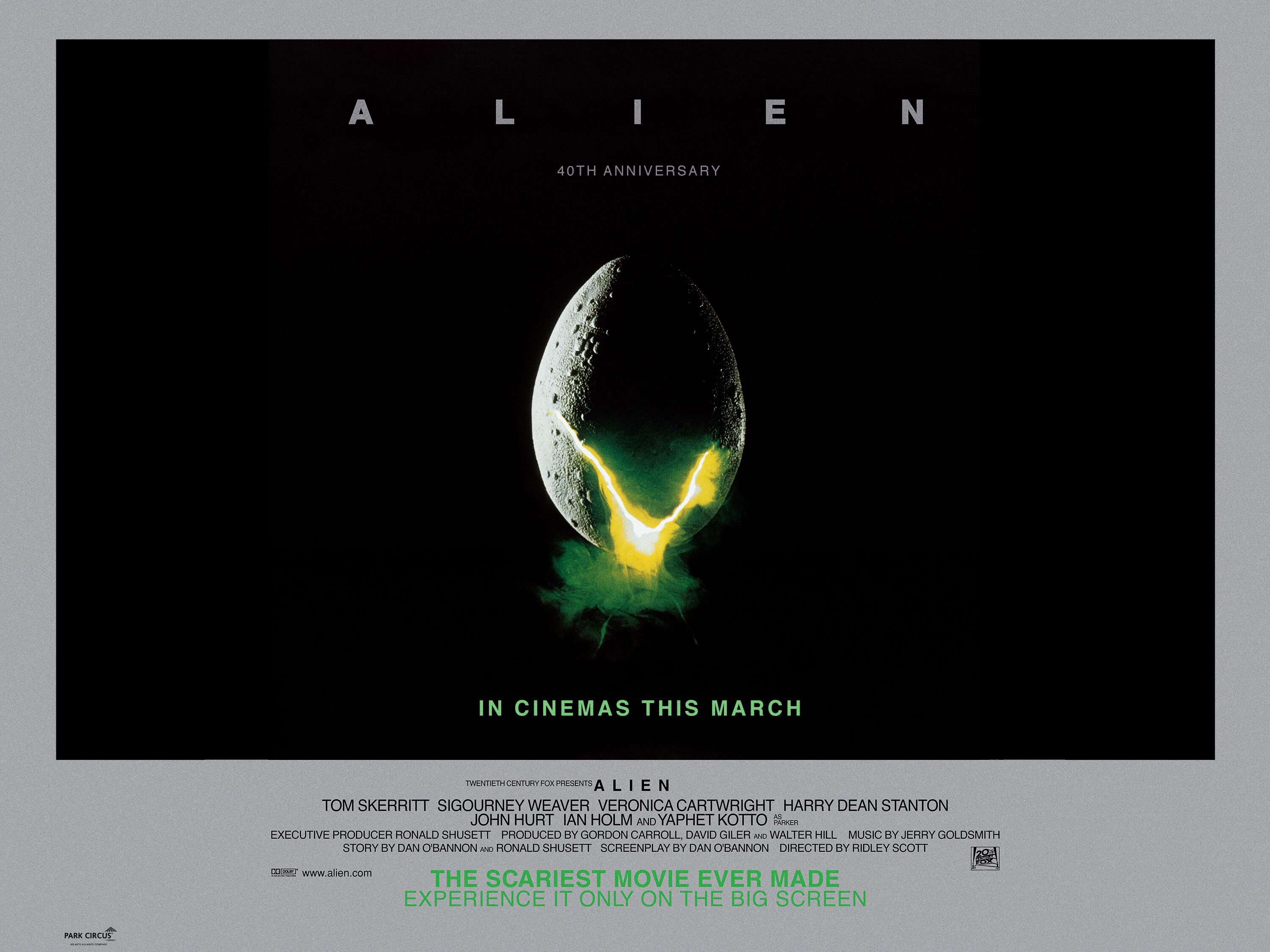[News] Catch the 4K Restoration of ALIEN This March