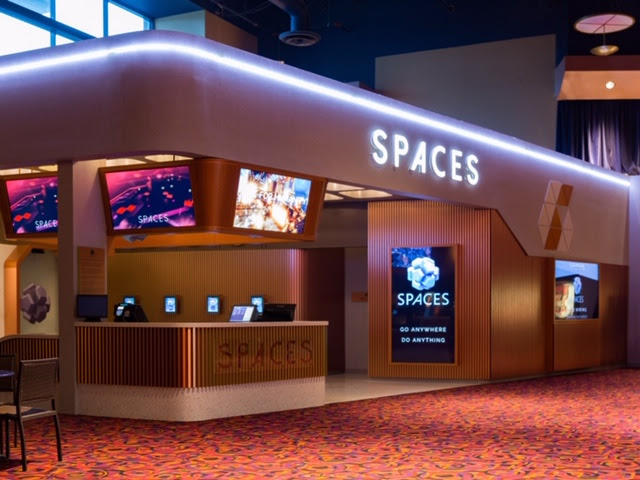 SPACES and Cinemark VR Experience Now Open in San Jose