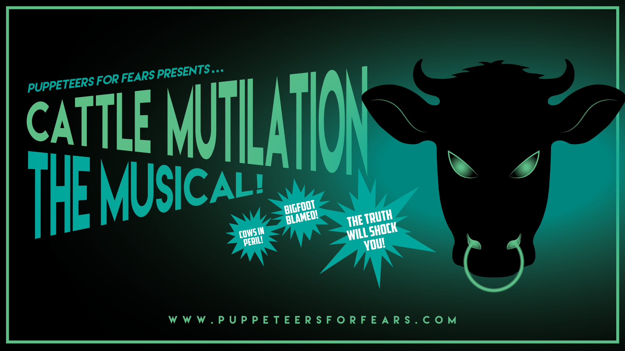 [News] Puppeteers for Fears Launching 2019 Season with CATTLE MUTILATION: THE MUSICAL