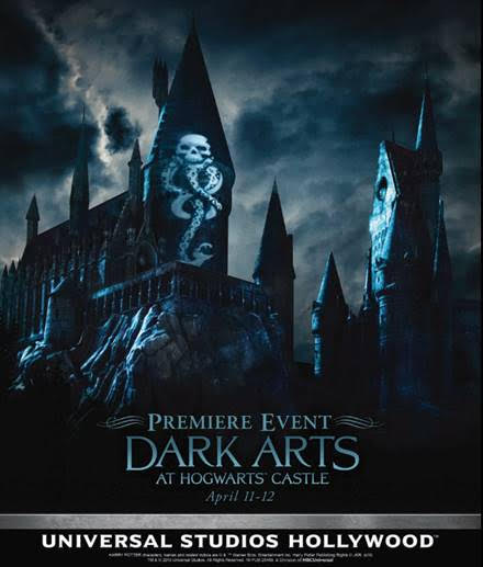 [News] Universal Studios Hollywood Announces Dark Arts at Hogwarts Castle Premiere Event April 11-12