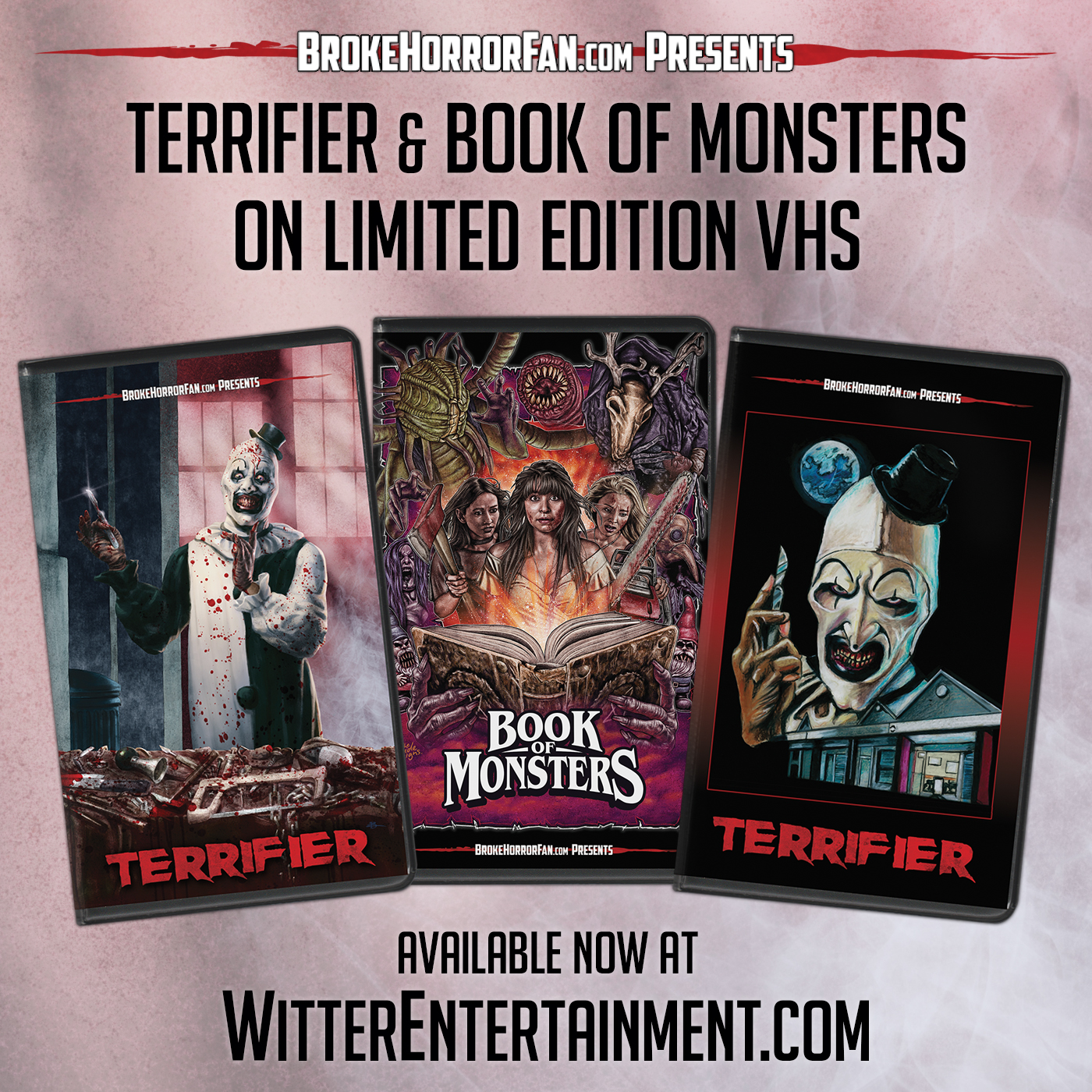 [News] TERRIFIER and BOOK OF MONSTERS Coming to VHS