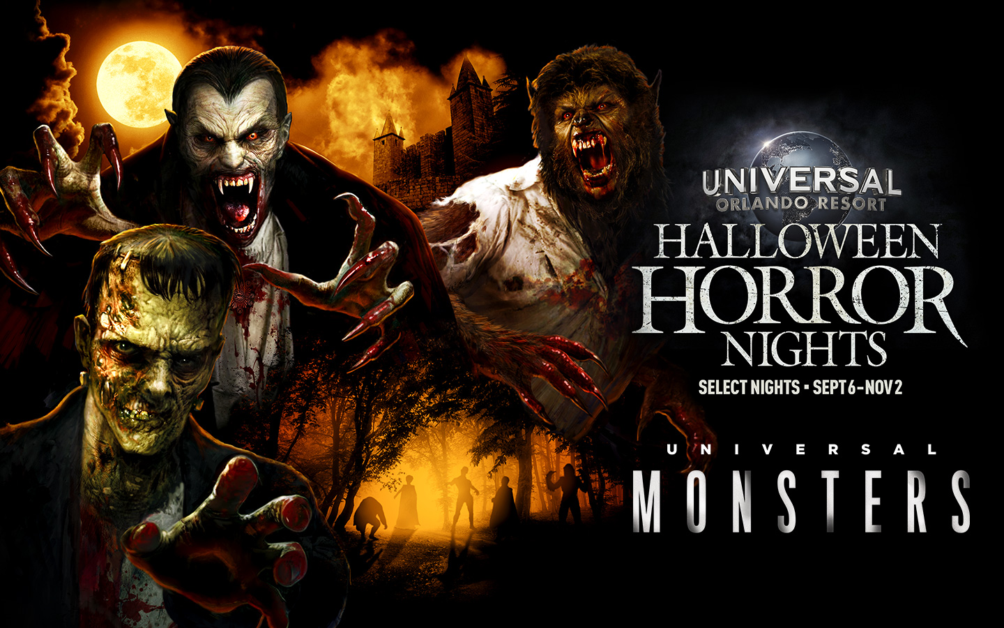 [News] All-New Universal Monsters Maze Coming to Halloween Horror Nights