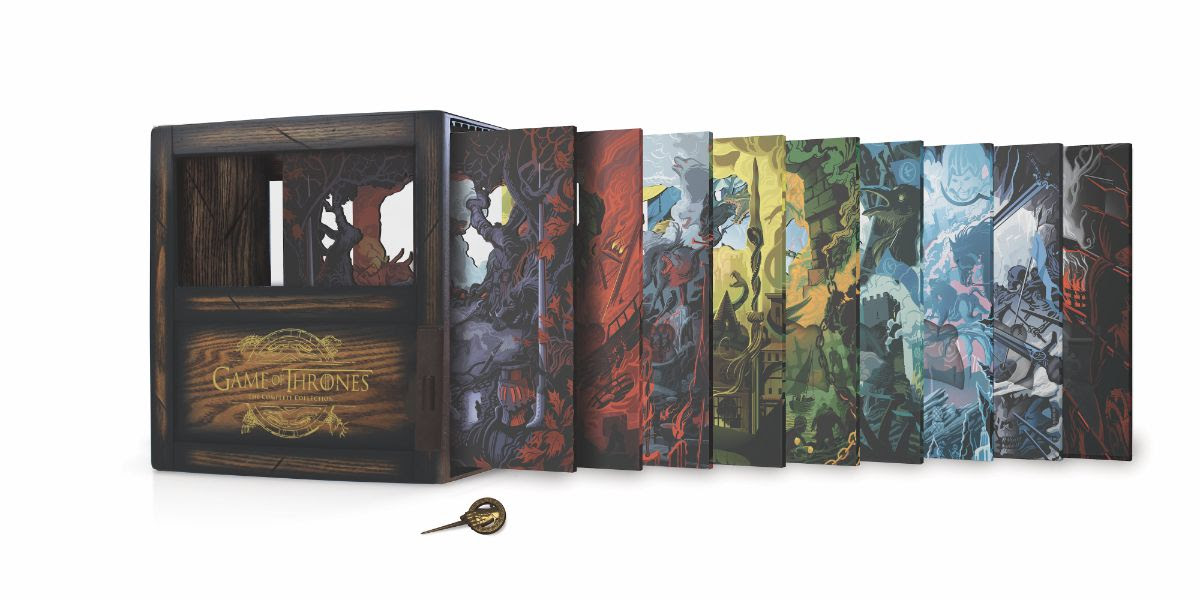[News] GAME OF THRONES The Complete Collection Arrives on Blu-ray