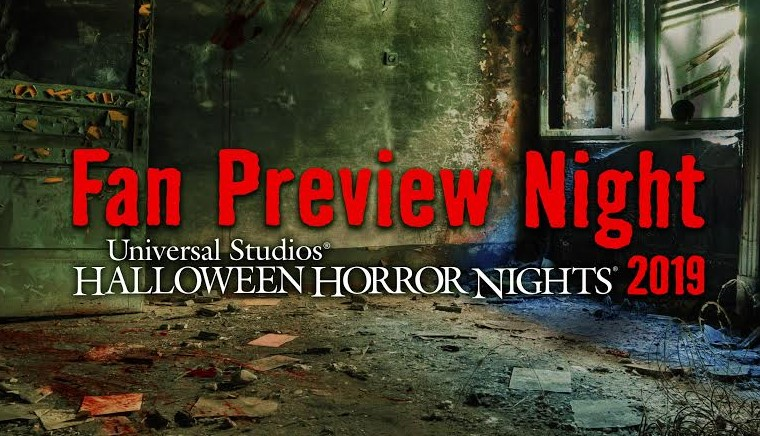 [News] Halloween Horror Nights Hollywood Offers Fan Preview Night