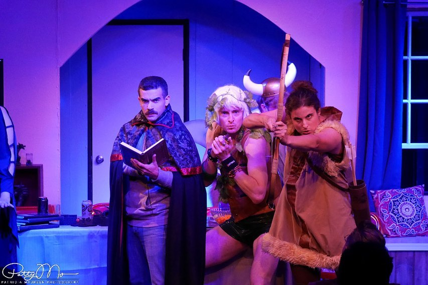 Live Theatre: Force of Nature Productions Presents MASTERS OF THE DARK REALM