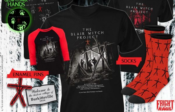 [News] Fright-Rags Celebrates 20th Anniversary of THE BLAIR WITCH PROJECT