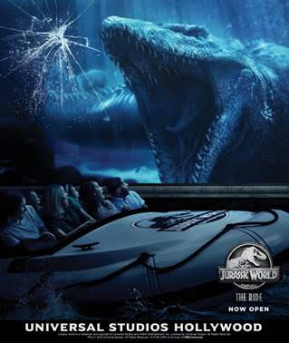 Breaking News: JURASSIC WORLD-THE RIDE Opens