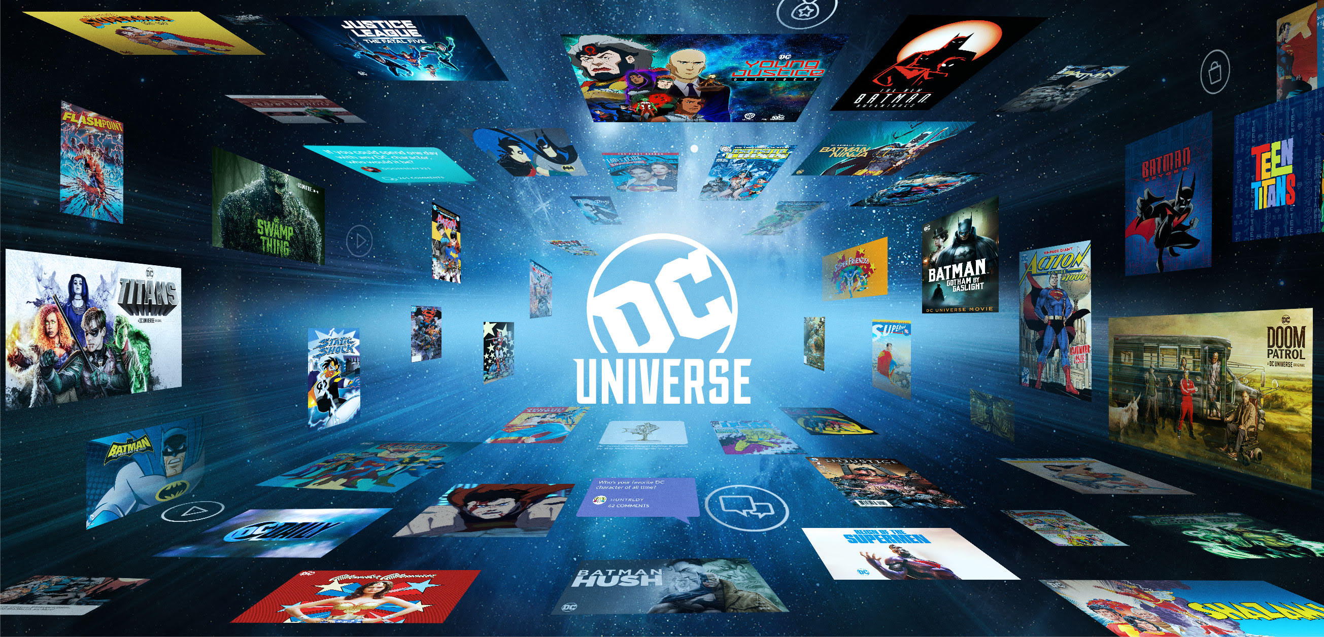 [News] DC Goes Big at SDCC with a Slate of DC Universe Activities