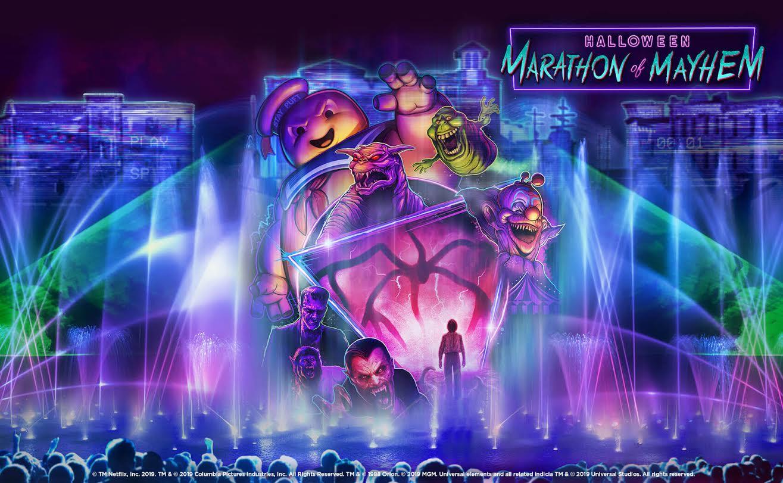 [News] Halloween Horror Nights Orlando Presents HALLOWEEN MARATHON OF MAYHEM