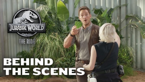 [News] Take a Look Behind the Scenes of JURASSIC WORLD – THE RIDE