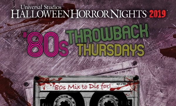 [News] Halloween Horror Nights at Universal Studios Hollywood Goes Retro with Throwback Thursdays
