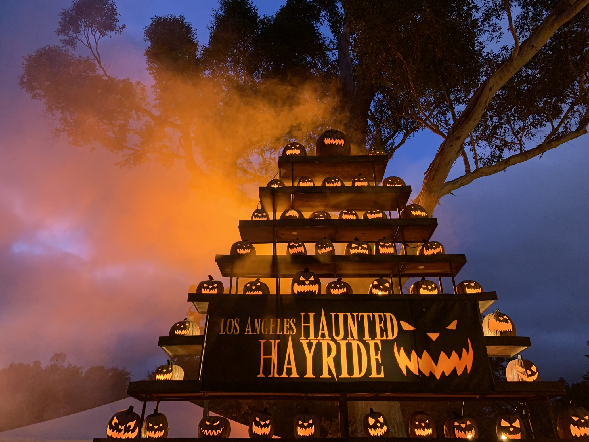 Haunt Review: LA's HAUNTED HAYRIDE (2019)