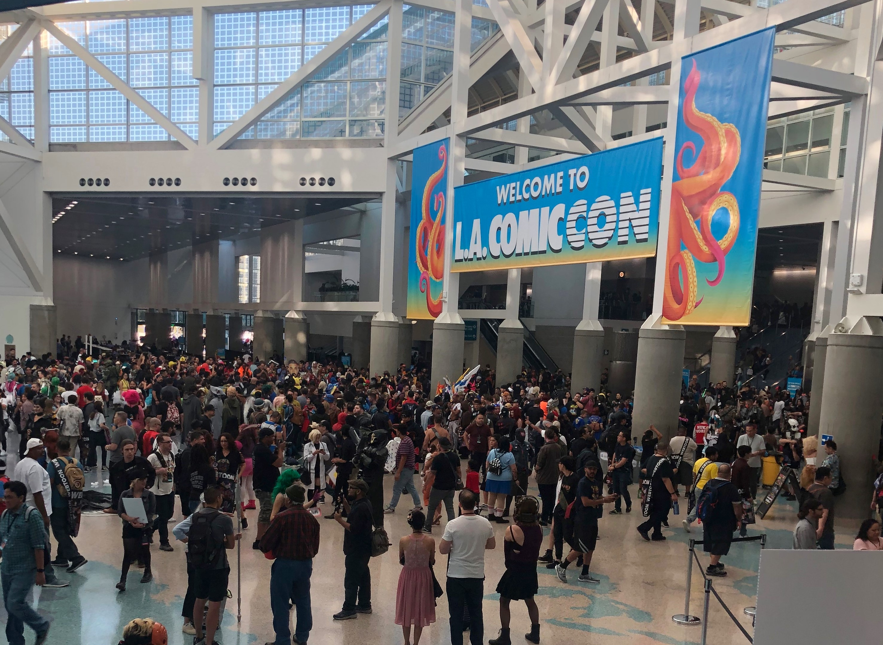 Event Recap: LA COMIC CON 2019