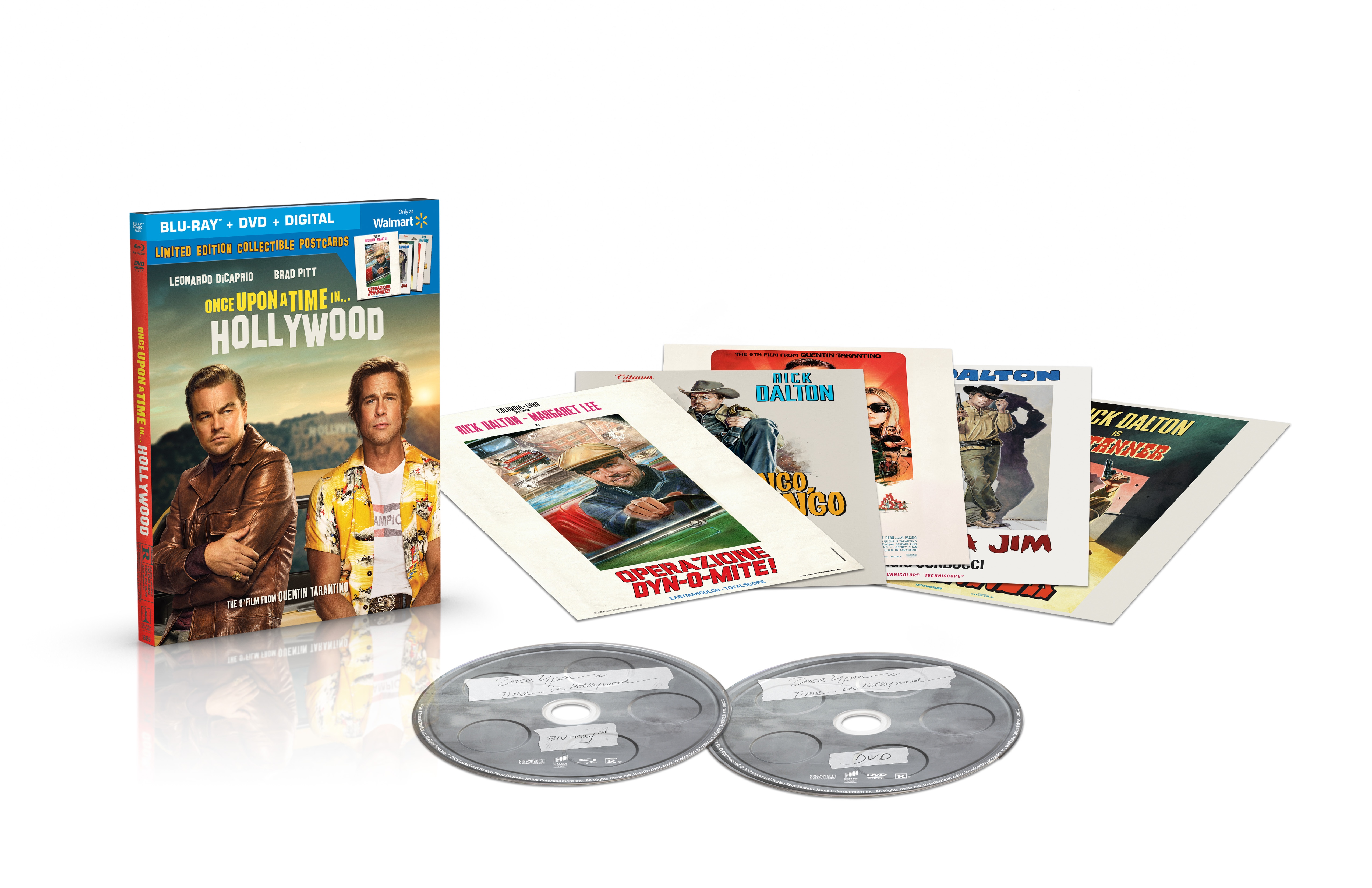 [News] ONCE UPON A TIME IN…HOLLYWOOD Coming to Blu-ray and DVD