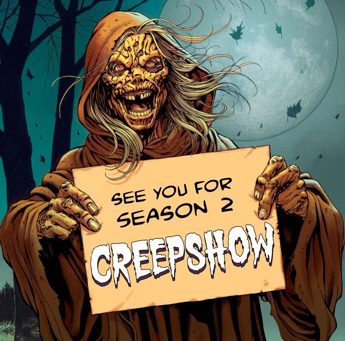 [News] Shudder Renews Second Season of CREEPSHOW
