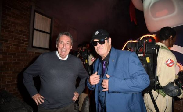 [News] Dan Aykroyd and Ivan Reitman Journey into Ghostbusters Halloween Horror Nights Maze!