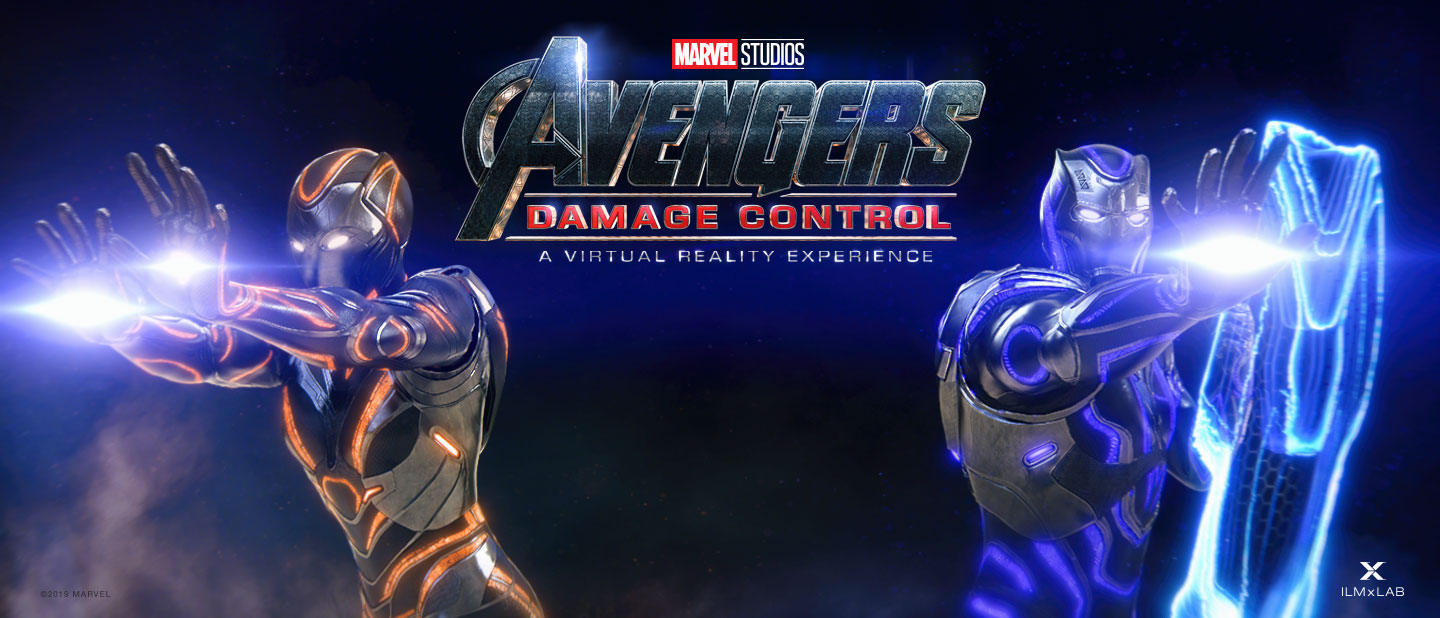 VR Experience: AVENGERS DAMAGE CONTROL