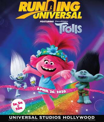 [News] Running Universal Presents TROLLS
