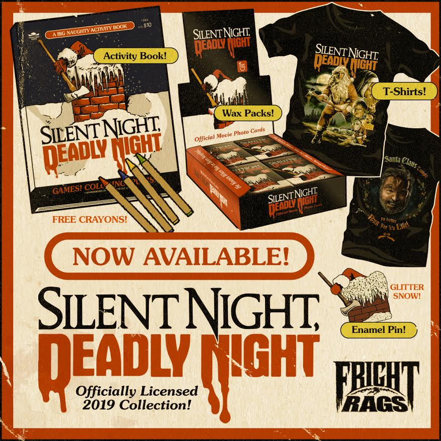 [News] Fright-Rags Announces SILENT NIGHT DEADLY NIGHT