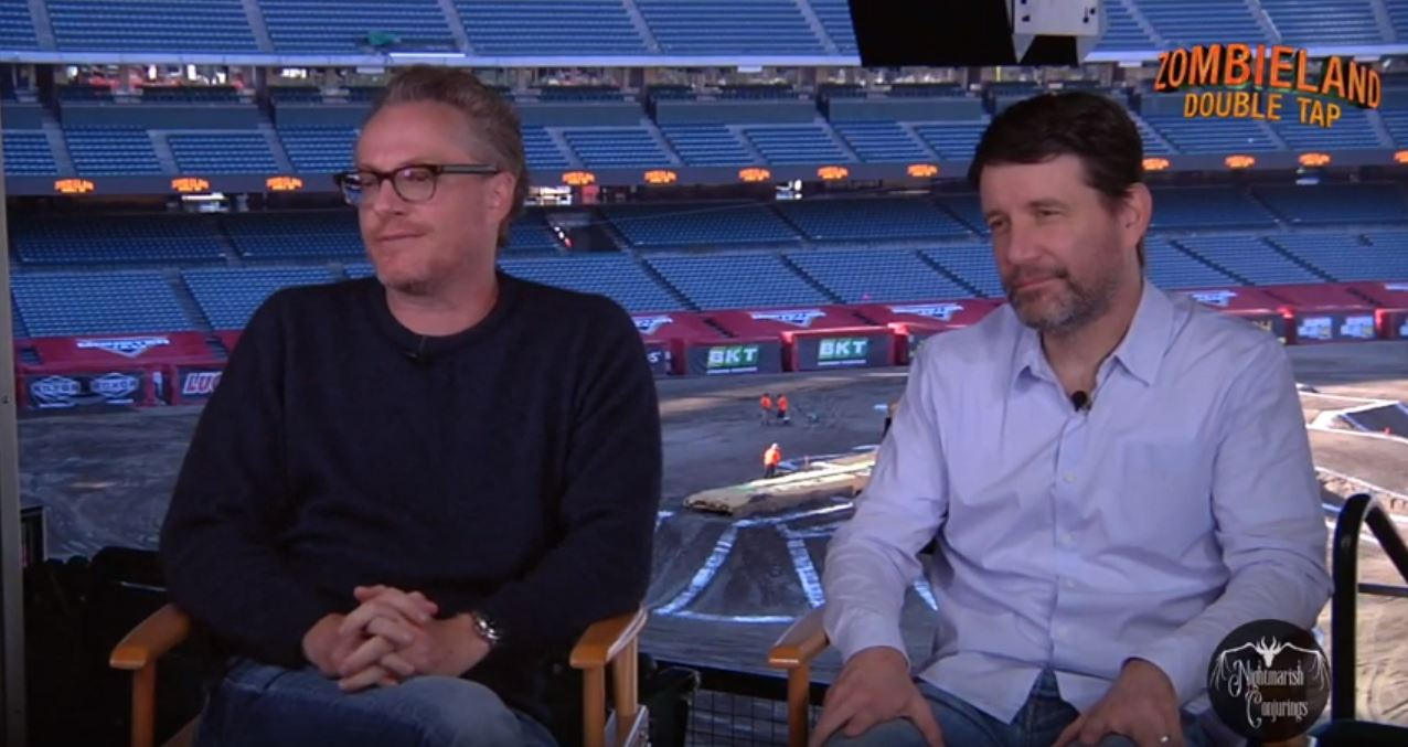 [Video Interview] Writers Rhett Reese and Paul Wernick for ZOMBIELAND: DOUBLE TAP