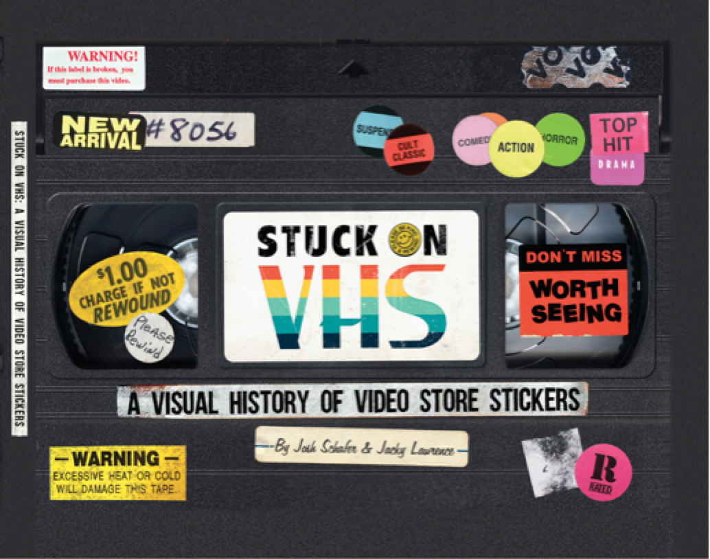 [News] Alamo Drafthouse Launches STUCK ON VHS: A VISUAL HISTORY OF VIDEO STORE STICKERS