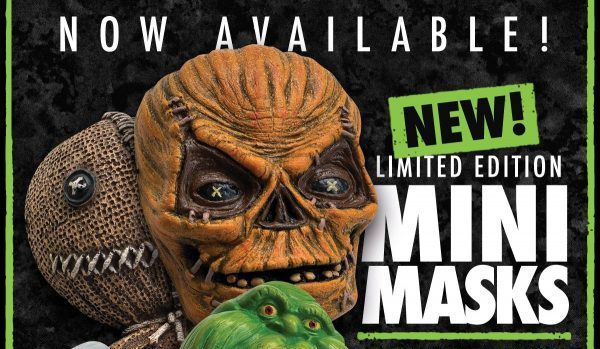 [News] Fright-Rags Debuts TRICK 'R TREAT & GHOSTBUSTERS Mini-Masks!