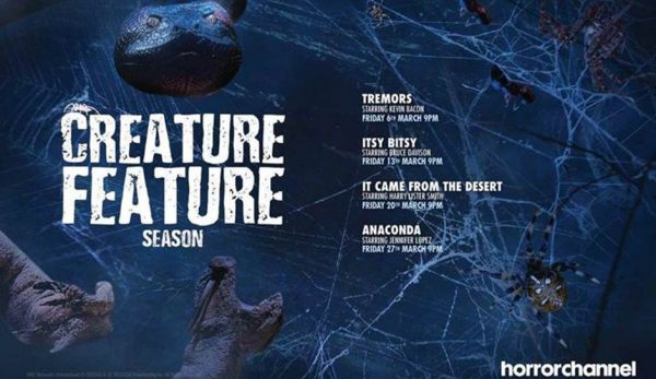 [News] Horror Channel Gets Beastly in March with Creature Feature Season