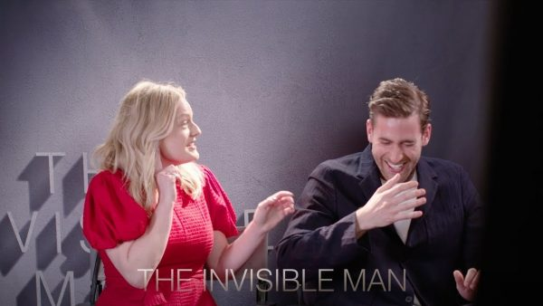 [News] THE INVISIBLE MAN Surprises Elisabeth Moss and Oliver Jackson-Cohen
