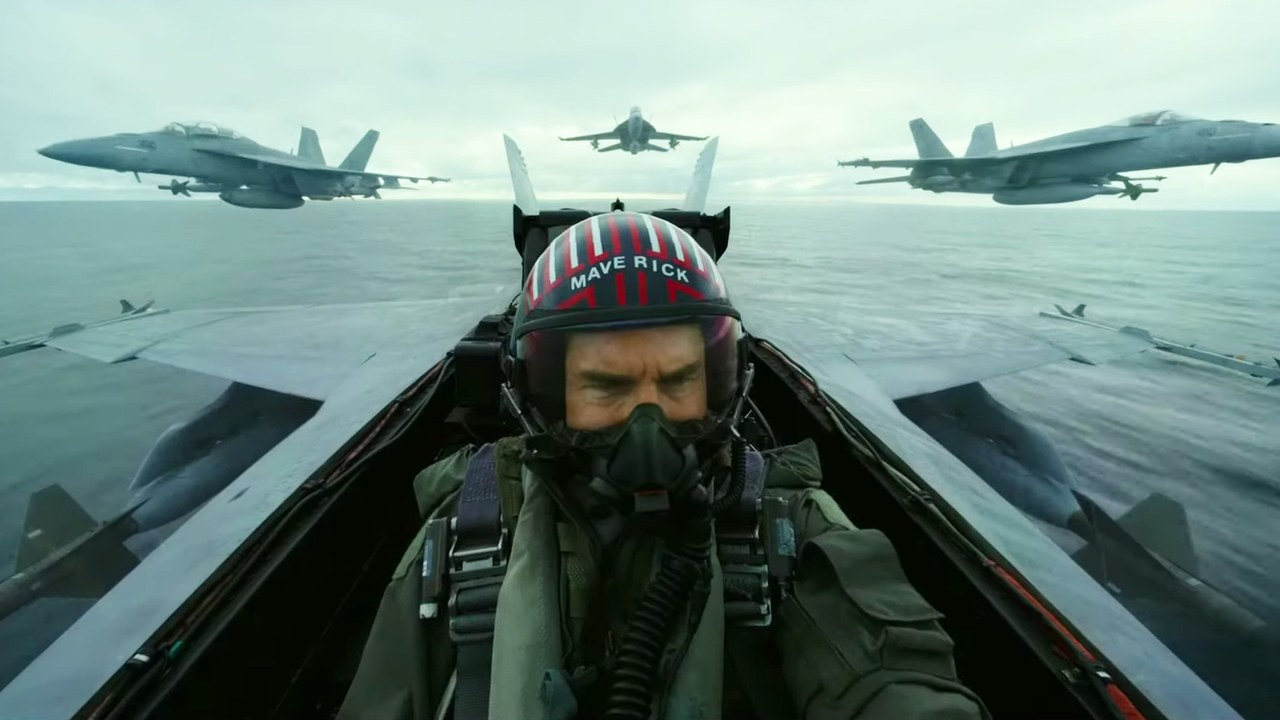 [News] TOP GUN: MAVERICK Superbowl Spot Flies Right Into Our Hearts!