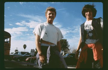 [News] Rare BTS Images From BILL & TED'S EXCELLENT ADVENTURE