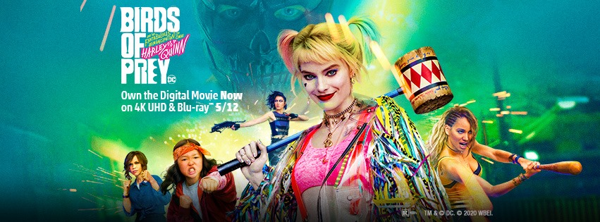 [News] WBHE Announces BIRDS OF PREY on Home Video this May