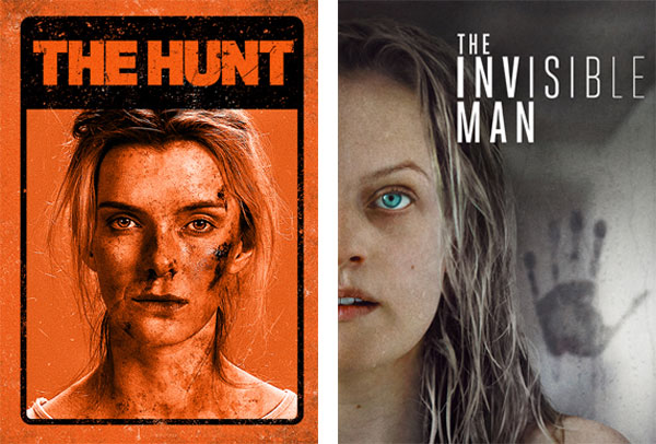 [News] THE HUNT & THE INVISIBLE MAN Now Available To Watch On Demand