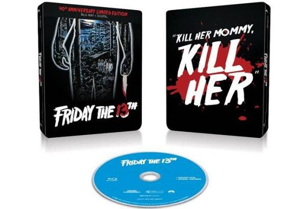 [News] FRIDAY THE 13TH 40th Anniversary Blu-ray Steelbook Arrives on May 5