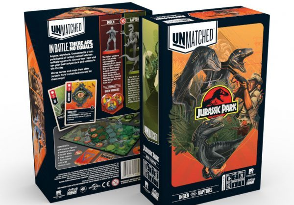 [News] Unmatched: JURASSIC PARK Has Finally Arrived!