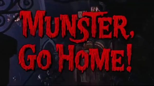 [Blu-ray/DVD Review] MUNSTER GO HOME!